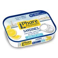 3263670125719 - Phare d'Eckmuhl - Sardines marinade citron bio MSC, Teneur réduite en sel