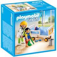 4008789066619 - PLAYMOBIL® City Life - Chambre d'enfant avec médecin