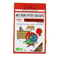 3497900007319 - DAO - Biscuits salés Tomate Basilic Bio