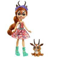 0887961917819 - Enchantimals - Mattel - Gabriella gazelle  et relais- Enchantimal- GMT26