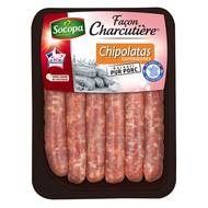 3039050649119 - Socopa - Façon Charcutière Chipolatas supérieures