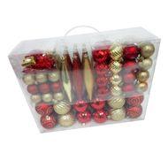 3602904749619 - Cora - Coffret décorations de Noël rouge et or