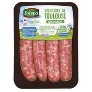 3039050641120 - Socopa - Saucisse de Toulouse Oméga 3