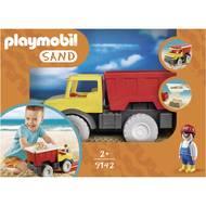 4008789091420 - PLAYMOBIL® Sand - Camion tombereau avec pelle