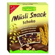 4006040021520 - Rapunzel - Barre Muesli Bio au Chocolat sans huile de palme
