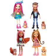 0887961591620 - Mattel - Figurine Mini Poupée et Animal- Enchantimals- Fnh22