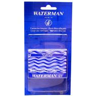 Waterman Cartouches longues d'encre bleue