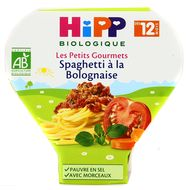 4062300163720 - Hipp - Spaghetti à la bolognaise bio, dès 12 mois