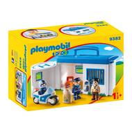 4008789093820 - PLAYMOBIL® 1.2.3 - Commissariat de police transportable