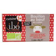 3609060004620 - Ibo - Bouillon de boeuf en cube bio