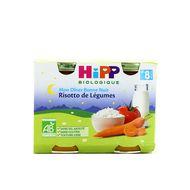 4062300056220 - Hipp - Bonne Nuit Risotto de Légumes bio, dès 8 mois