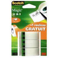 4046719376520 - Scotch - 3 Recharges rubans adhésif magic invisible 15 m x 19 mm