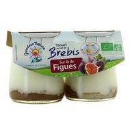 3252920037520 - Grandeur nature - Yaourt bio au lait de brebis sur lit de figues