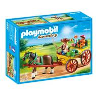 4008789069320 - PLAYMOBIL® Country - Calèche avec attelage