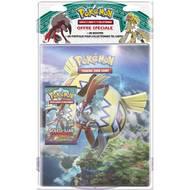 3558380040521 - Asmodée - Pack Cahier + Booster de 10 cartes Pokemon Soleil et Lune 02