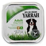 8714265090721 - Yarrah - Bouchées bio au poulet et légumes pour chien adulte