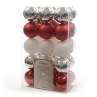 8719152049622 - Truffaut - Boite de 30 boules plastiques