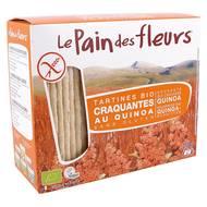 3380380023521 - Le pain des fleurs - Tartines craquantes Quinoa, sans gluten, bio