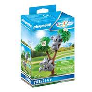 4008789703521 - PLAYMOBIL® Family Fun - Couple de koalas avec bébé