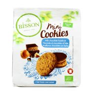 3380380084621 - Bisson - Mini cookies choco lait noisette bio