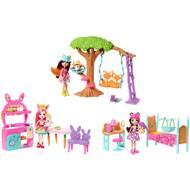 0887961625721 - Mattel - Mini-poupée et son univers- Enchantimals- Frh44
