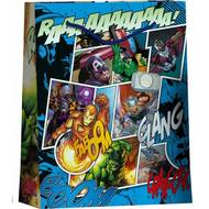 3701037600122 - Avengers - Sac cadeau format livre avec cordelettes