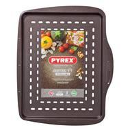 3426470275422 - Pyrex - Plat à pizza rectangulaire métal Asimetria