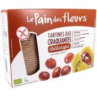 3380380068522 - Le pain des fleurs - Tartines craquantes à la châtaigne, sans gluten, bio