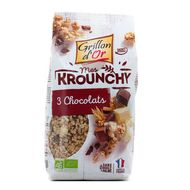 3421557110023 - Grillon Or - Mes krounchy 3 chocolats bio