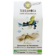 3760264900023 - Terramoka - Café bio Arthur capsule biodégradable sans aluminium