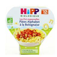 4062300260023 - Hipp - Pâtes Alphabet à la Bolognaise bio dès 12 mois