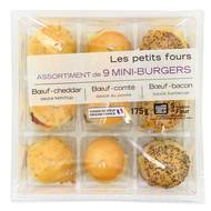 3700009260623 - Mix Buffet - Mini burger 175g