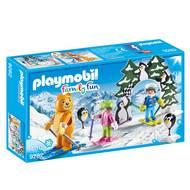 4008789092823 - PLAYMOBIL® Family Fun - Moniteur de ski avec enfants
