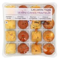 3700009264423 - Mix Buffet - Assortiment 16 mini-cakes