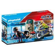4008789705723 - PLAYMOBIL® City Action - Policier avec moto et voleur