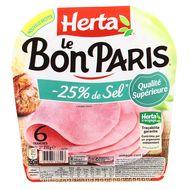 Herta - Le bon Paris -25% de sel 210g