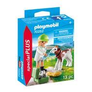 4008789702524 - PLAYMOBIL® Spécial Plus - Vétérinaire et veau