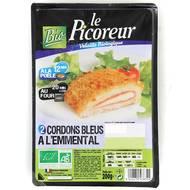 3422210438324 - Le Picoreur - Cordon bleu à l'emmental Bio
