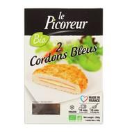 3422210438324 - Le Picoreur - 2 Cordons bleus à l'emmental Bio