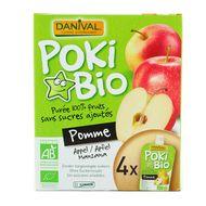 3431590008324 - Danival - Poki bio Purée de pomme