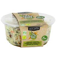 3181580278724 - Jean Stalaven - Salade de céréales, courgettes, carottes et raisins en sauce Bio