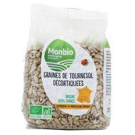 3322693001025 - Monbio - Graines de tournesol bio decortiquéés