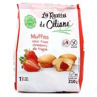 3700566453025 - Céliane - Moelleux coeur fraise, bio sans gluten