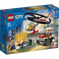 5702016617825 - LEGO® City - 60248- L'intervention de l'hélicoptère de police