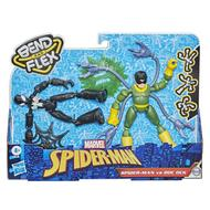 5010993789825 - Marvel - Hasbro - Spider-Man costume noir Vs. Doc Octopus- Bend and Flex