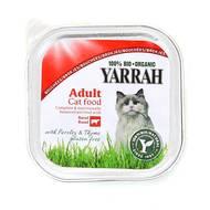 8714265090226 - Yarrah - Bouchée bio au boeuf et poulet pour chat adulte