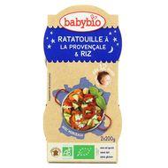 3288131520926 - Babybio - Ratatouille à la Provençale & riz Bio dès 12 mois