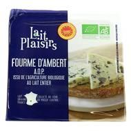 3760099533526 - Lait Plaisirs - Fourme d'Ambert Bio AOP