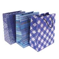 3329682237526 -  - Sac cadeau shopping Bleu