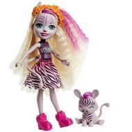0887961917826 - Enchantimals - Mattel - Pouépe Zabie zèbre et rayure- Enchantimal- GMT27